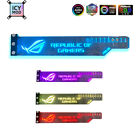 RGB VGA Holder Customizable A-RGB Horizental GPU Bracket New