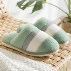 Womens Comfy Warm Slip Cotton Ladies Mules Fluffy Slippers Clogs Winter UK Size