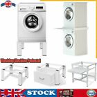 Washing Machine Pedestal Stand Holder Raiser & Stacking Kit White Tumble Dryer