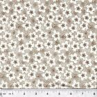 Beachcombers Sand Dollar Flowers 100% cotton fabric PICK COLOR & SIZE
