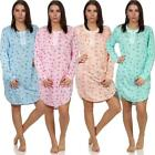 Ladies Nightgown Sleepshirt Nightwear, M L XL XXL