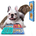 4pc Pet Maze Plate Dog Eating Licking Mat Silicone Suction Slow Feeder Food