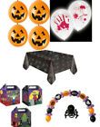 Halloween lunch box Tablecloth Pumpkin LED Blood Balloons Arch Party Supplies