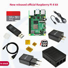 Raspberry pi 4B 2/4/8GB  complete kit with 64GB SD card adapter black case HDMI