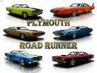 """Plymouth Road Runner Metal Sign 9"""" x 12"""" or 12"""" x 16"""""""