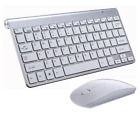 Ultra Slim Portable Wireless Keyboard and Mouse Set for Computer, MAC, Laptop,TV
