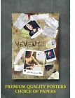 Memento Classic Movie Large Poster Art Print Gift A0 A1 A2 A3 A4 Maxi