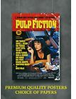 Pulp Fiction Classic Movie Large Poster Art Print Gift A0 A1 A2 A3 A4 Maxi