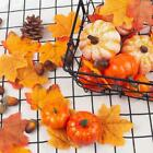Artificial Small Foam Pumpkins Simulation Props Home Decor Halloween Party V8q7