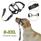 Dog Muzzle Strap Halti Head Collar Stops Nose Reigns Pet Pulling Halter