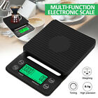 3kg/ 5kg 0.1g Drip Coffee Scale Timer Portable Electronic Digital Kitchen Scale