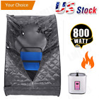 Portable Steam Sauna 2L Personal Therapeutic Sauna Full Body Weight Loss Detox++