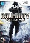 Call of Duty World At War - Original Nintendo Wii game