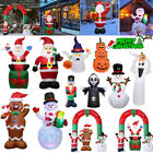 Inflatable Christmas Decorations Santa Snowman Halloween Xmas Party Outdoor