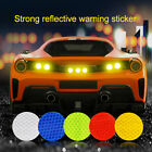 Round Car Reflective Sticker Safety Warning Strip For Bus Backpack Bicycle Decal