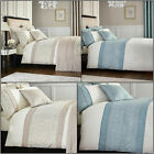 Catherine Lansfield ORNATE JACQUARD Woven Detailing Duvet Cover Bedding Set