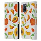 OFFICIAL CAT COQUILLETTE FRUITS & VEGGIES LEATHER BOOK CASE FOR OPPO PHONES