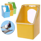 1Pc Pigeon Feeder Water Feeding Plastic Food Dispenser Parrot Container Supply