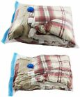 Space Saver Vacuum Seal Clothes Bedding Storage Bags Airtight Reusable M/L/XL