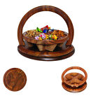 Holidays Gift Basket Nuts Candies Fruit Assortment Tray Family Thanksgiving gift