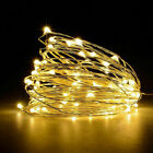 USB LED Micro Rice Wire Copper String Fairy Lights Party Decor Christmas Gift UK