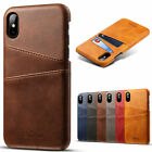 Pu Leather Wallet Card Slot Holder Cover Phone Case For Iphone 7 8plus Xs Max Xr