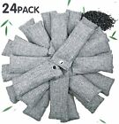 24 Pack Air Purifying Bag Natural Bamboo Activated Charcoal for Home and Car