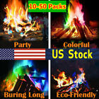 Mystical Fire Magic 10-50Pack Colorant Vibrant Flame Color Changing Fire Bonfire