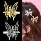 1xgold Butterfly Hairpin Gold Hair Clip Accessories Women Wedding Jewelry  9h2i
