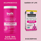 BulkProbiotics Garden of Life Once Daily Women's 50 Billion CFU Probiotic Powder