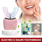 360 Wireless Automatic Electric Sonic Toothbrush Teeth Whitening Brush IPX7
