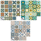 24pcs Pvc Waterproof Self-adhesive Oil Proof Decal Tile Stickers Home Decor