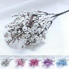 Floral Artificial Flower Decoration Multi Heads Fake Simulation Home Cloth