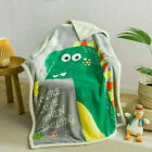 Shark dinosaur Teddy Fleece Weighted Blanket Kids Sleep Therapy Anxiety Throw UK