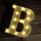 Novelty Place Alphabet Light - Marquee Letters Sign with Shining Bulb Night Lamp