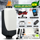 2KW-5KW 12V Diesel Air Heater Tank Thermostat Truck Boat Car Switch Silencer+RC