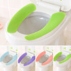 1/2/5x Sticky Toilet Mat Soft Reusable Flannel Warmer Mat Cover Pad Seat Cushion