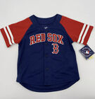MLB Boston Red Sox Button Up Jersey Baby Size New With Tags
