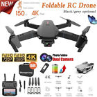 1080P 4K Drone WIFI FPV HD Camera 6 Axis Gyroscope Foldable Remote RC Quadcopter