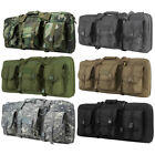 """VISM 28"""" Compact Double Airsoft Rifle / PDW Padded Carry Case Gun Bag CVCPD2962"""