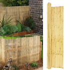Bamboo Screening Roll Reed Screen Fencing Garden Fence Panel Outdoor 4m Long