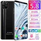 Unlocked i13 Smart Phone 5.8'' 512MB+4GB Android 9.1 HD Full Screen Cellphone