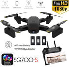 FPV RC Drone 1080P HD Dual Camera Live Video wide-Angle WiFi Quadcopter+ Battery