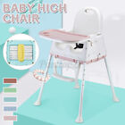 Baby High Chairs Adjustable Feeding Dining Booster Table Seat Highchair Safe