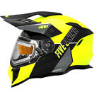509 Adult Lime Green Gray Delta R3L Ignite Helmet Snowmobile 2021