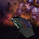 One Handed Mechanical Feel Gaming Keyboard  Left Hand Wired Keypad 💯lol Game