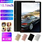 """10.1"""" inch Android 9.0 Tablet PC 8 128GB 2 SIM Dual Camera GPS WiFi Phablet Pad"""