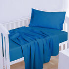 1800 Count 3 Piece Crib Fitted Sheet Set Cool Breathable For Baby NTBAY Bedding