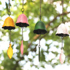 Japanese Bless Small Wind Chimes Cast Iron Lucky Temple Wind Bell Outside Garden