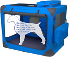 Pet Gear 3 Door Portable Soft Crate, Folds Compact For Travel In Seconds No Tool